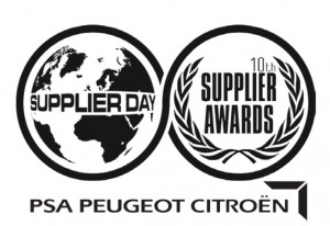 Logo Supplier day supplier awards PSA peugeot citroen