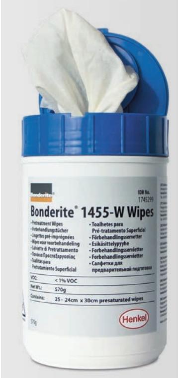 Lingettes Bonderite® M-NT 1455 W